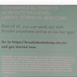 Brooke Burke Sliding Workout Exercise Slider Discs NWT
